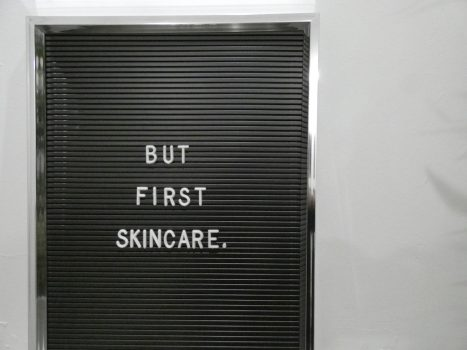 Skincare should be simple she said…