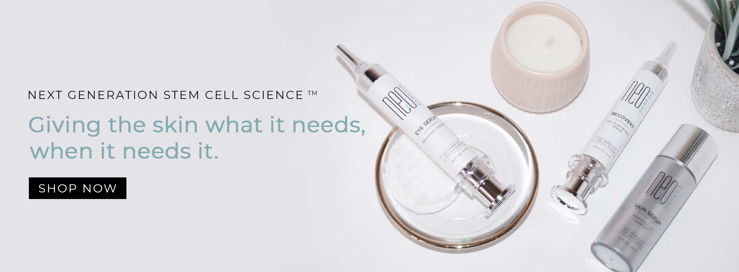 NeoGenesis Skin Care Products